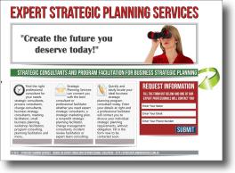 Strategic Planning Services Website