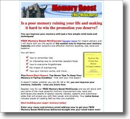 Free Memory Course