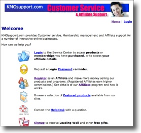 KMG Support Customer Service
