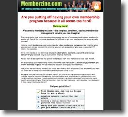 Memberzine - Membership Management Service