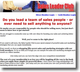 The Sales Leader Club